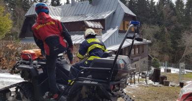 27.3.2019 – požár komínového tělesa Špičák