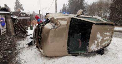 12.2.2020 – Dopravní nehoda 1OA v ul. Klatovská