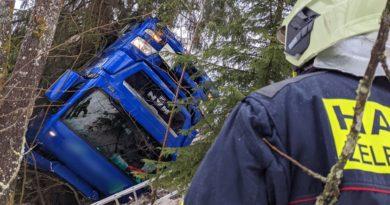 3-4.2.2021 – DN kamionu ŽR-Alžbětín